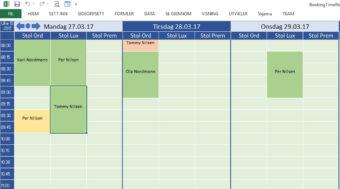 Booking: Timebestilling