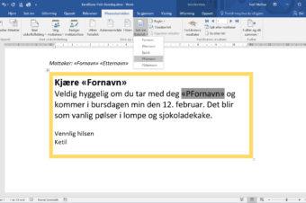 Lage faktura i Excel og sende som PDF fra Outlook - ExcelGuru - Excel på Norsk